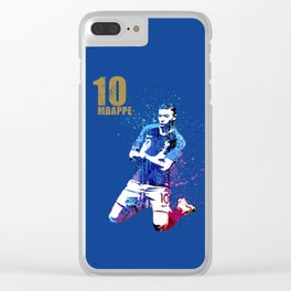 WORLD CUP 2018 #FRANCE #Mbappe Clear iPhone Case