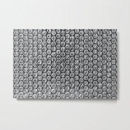 Bubble Wrap Pleasure Metal Print