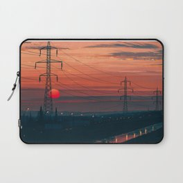 Any Minute Now Laptop Sleeve