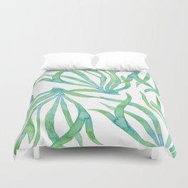 Green Seaweed Duvet Cover