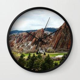 Golf Heaven Wall Clock
