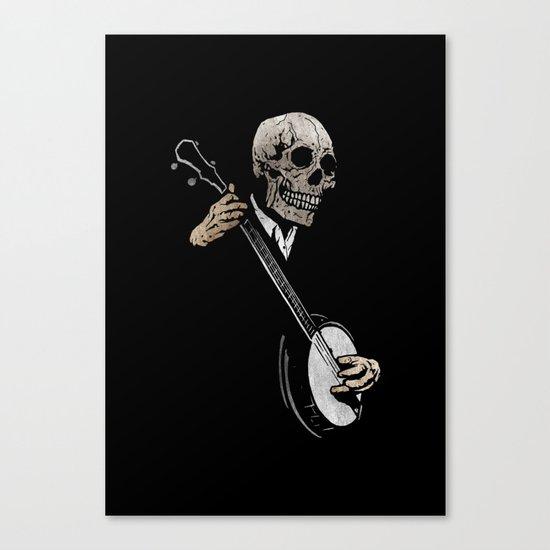 Skullboys' Banjo Blues Canvas Print
