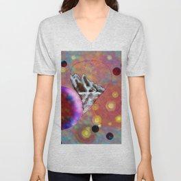 Space mountain Unisex V-Neck