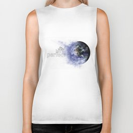 world isn't perfect Biker Tank