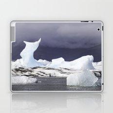 Glacier Lagoon Iceland Laptop & iPad Skin