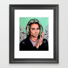 Mr. Depp Framed Art Print