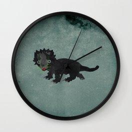 Catriceratops V2 Wall Clock