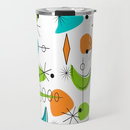 Mid-Century Modern Space Age Travel Mug