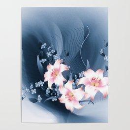 Lilien - lilies Poster