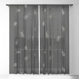 Bugs: A Coding Error in a Computer Program Sheer Curtain