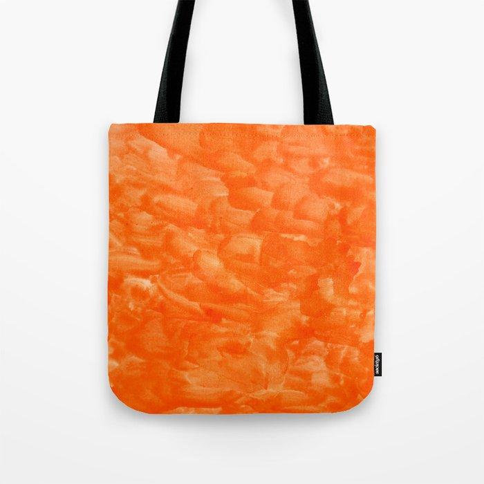 Orange Explosion Tote Bag