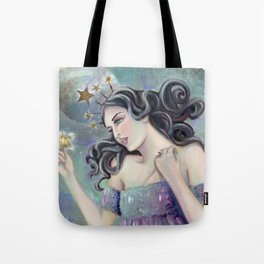Asteria - Goddess of Stars Tote Bag