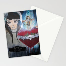 Water to the Flame Stationery Cards