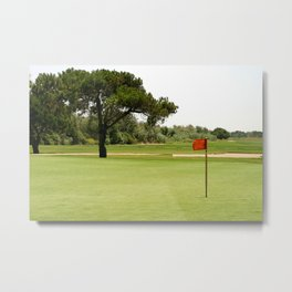 Golf Metal Print