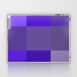 Purple fantasy grid Laptop & iPad Skin