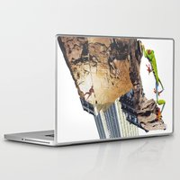 climbing Laptop & iPad Skins featuring Climbing by Lerson