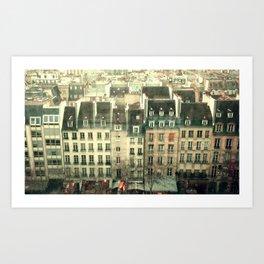 Paris - the Marais Art Print