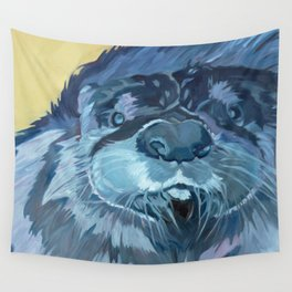 Mustache the Otter Wall Tapestry