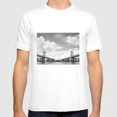 Vanishing Point Mens Fitted Tee SMALL White