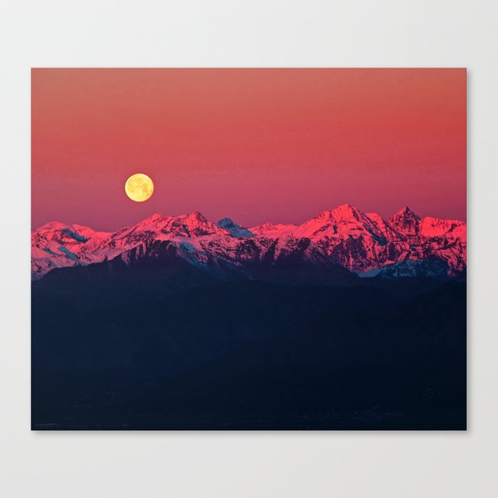 In The End #society6 #prints Canvas Print