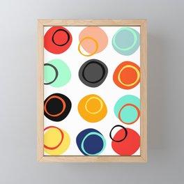 Color Drop Framed Mini Art Print
