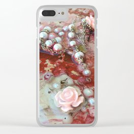 Ladylike (Detail Two) Clear iPhone Case