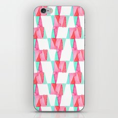 Cheery Triangles iPhone & iPod Skin