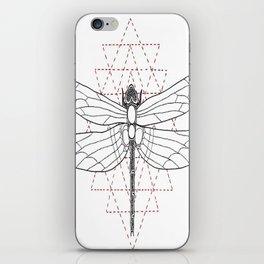 geometry dragonfly iPhone Skin
