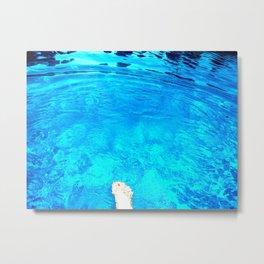 water, saskatoon, saskatchewan, canada Metal Print