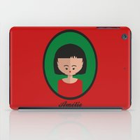 amelie iPad Cases featuring Amelie by Juliana Motzko