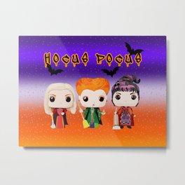 Funko dolls hocus pocus Metal Print