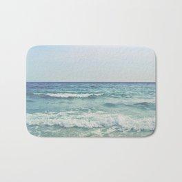 Ocean Crashing Waves Bath Mat