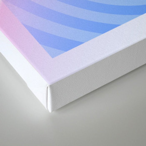 Disco Bunny Canvas Print
