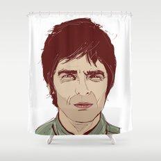 Noel Gallagher Shower Curtain