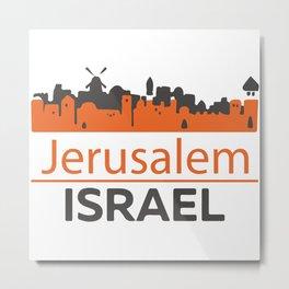 Jerusalem_Israel Metal Print