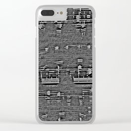 Vers le bord Clear iPhone Case