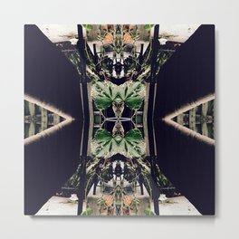 Through My Looking Glass Metal Print