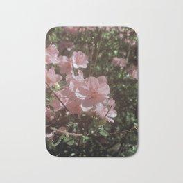 Happy Little Pink Flowers Bath Mat
