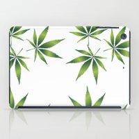 marijuana iPad Cases featuring Marijuana Leaves  by Limitless Design