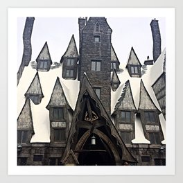The Three Broomsticks Art Print