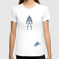 allyson johnson T-shirts featuring One Pride - Calvin Johnson by IllSports