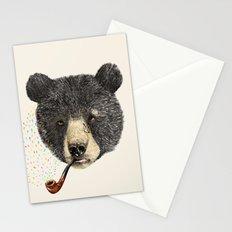BLACK BEAR SAILOR Stationery Cards