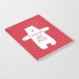 Bear hugs Notebook