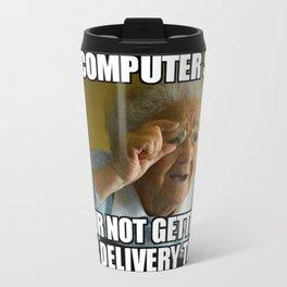 No delivery today Travel Mug