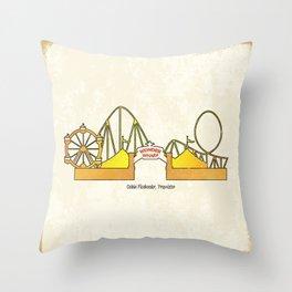 Wonder Wharf Throw Pillow