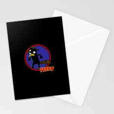 Perry The Platypus as Dick Tracy Stationery Cards