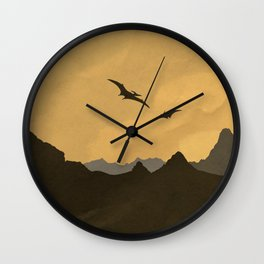 Silver Screen Tourism: Isla Nublar / Jurassic Park World Wall Clock