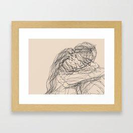 make-out? Framed Art Print