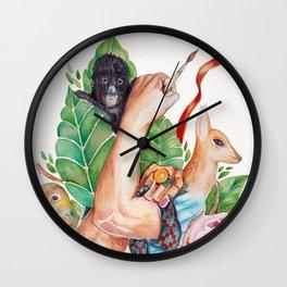 Never Stop Creating Wall Clock