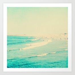 beach sunday II Art Print